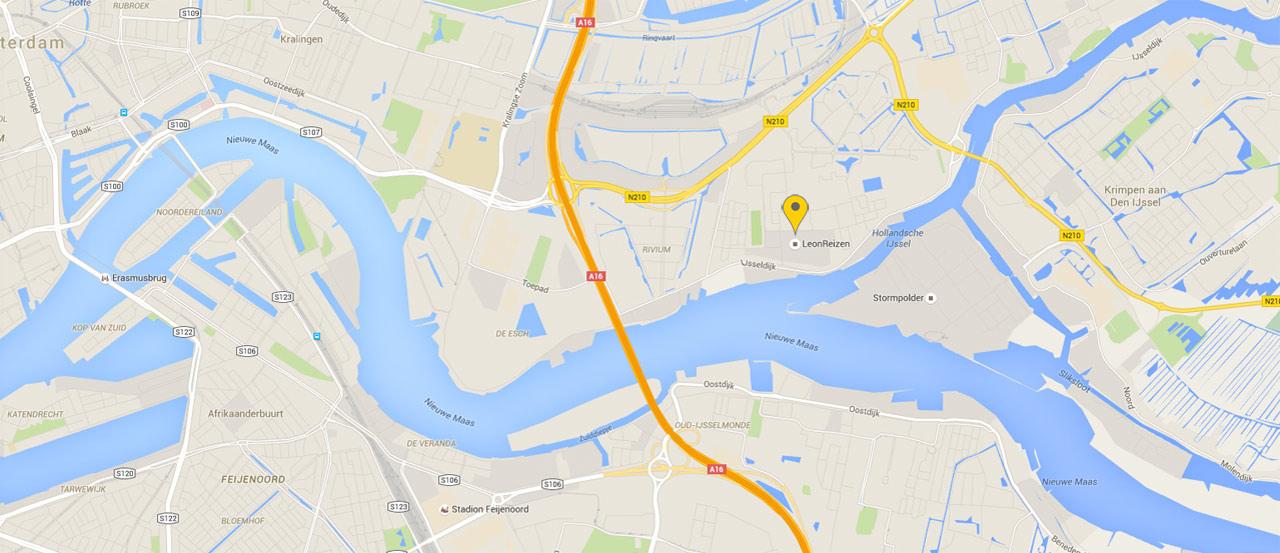 adres LeonReizen Kompasstraat 3 in Capelle aan den IJssel