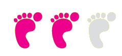 twee voetjes